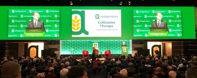 """18.08.2019 Assemblea di Confagricoltura. """"Coltiviamo l'Europa"""" a Milano"""