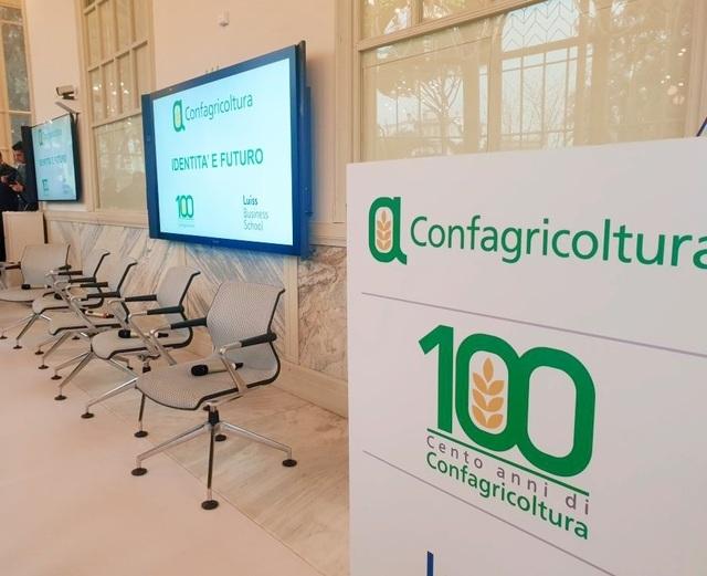 """""""Identità e futuro"""": al via il Centenario di Confagricoltura"""