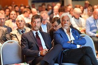 Il Presidente Mario Guidi e il Direttore di Confagricoltura Napoli Francesco Fiore