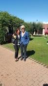 Il Direttore Francesco Fiore con un funzionario di Confagricoltura Roma dott.ssa Alessandra Lattanzi