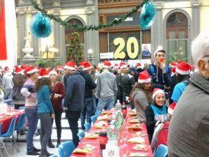 Confagricoltura Napoli in prima fila per la solidarietà al grande pranzo della Vigilia per mille indigenti organizzato dalla Mostra D'oltremare