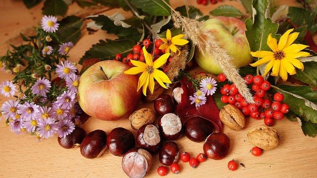 Frutta e Verdura di Stagione: il mese di Novembre