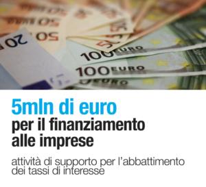 Bando per la concessione di ausili a fondo perduto alle MPMI per l'abbattimento dei tassi di interesse sui finanziamenti