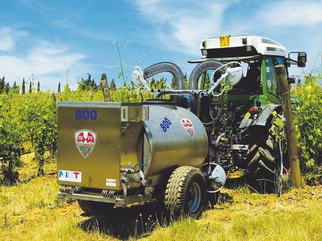 L'ozonoterapia per la difesa sostenibile delle colture